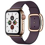苹果Watch Series 5(GPS+蜂窝网络/不锈钢表壳/现代风扣式表带/40mm) 智能手表/苹果