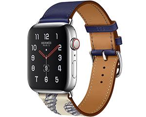 苹果Watch Hermes Series 5(GPS+蜂窝网络/不锈钢表壳/Single Tour表带/44mm)