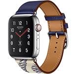 苹果 Watch Hermes Series 5(GPS+蜂窝网络/不锈钢表壳/Single Tour表带/40mm)