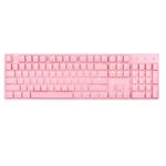 雷神K30R Cherry红轴机械键盘 粉硬糖 键盘/雷神