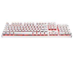 雷神 白幽灵K75机械键盘