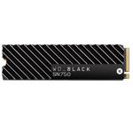 西部数据WD_BLACK SN750 NVME SSD带散热片(2TB) 固态硬盘/西部数据