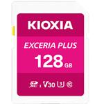 铠侠EXCERIA PLUS 极至光速 SDXC UHS-I储存卡(128GB) 闪存卡/铠侠