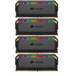 海盗船统治者铂金 RGB 64GB(4×16GB)DDR4 3600 内存/海盗船