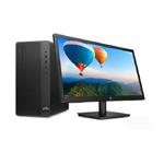 惠普288 Pro G5 MT(i3 8100/4GB/128GB+500GB/集显/21.5LCD) 台式机/惠普