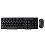 雷柏X130有线光学键鼠套装 键鼠套装/雷柏