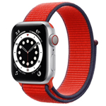 苹果Apple Watch Series 6 44mm(GPS/铝金属表壳/回环式运动表带) 智能手表/苹果