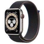 苹果Apple Watch Edition Series 6 44mm(GPS+蜂窝网络/钛金属表壳/回环式运动表带) 智能手表/苹果