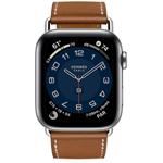 �O果Apple Watch Hermès Series 6 44mm(GPS+蜂�C�W�j/不�P�表��/Attelage Single Tour表��) 智能手表/�O果