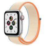 苹果Apple Watch SE 40mm(GPS+蜂窝网络/铝金属表壳/回环式运动表带) 智能手表/苹果