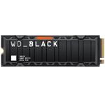 西部数据WD_BLACK SN850带散热片(2TB) 固态硬盘/西部数据