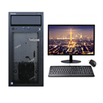 联想ThinkSystem ST58(i3 9100/8GB/1TB/21.5LCD) 服务器/联想
