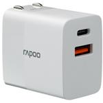 雷柏PA20双口充电器 手机配件/雷柏