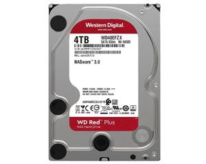 西部数据红盘Plus 4TB 5400转 128MB SATA3(WD40EFZX)图片