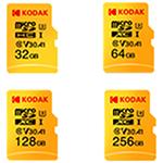 柯达Kodak mSD 64GB UHS-I U3 V30 Ultra 闪存卡/柯达