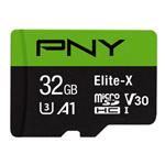PNY Elite-X U3 A1 TF (microSD) 存储卡(32GB) 闪存卡/PNY