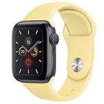 苹果Watch Series 5(GPS/铝金属表壳/运动表带/44mm) 智能手表/苹果