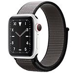 苹果Watch Edition Series 5(GPS+蜂窝网络/精密陶瓷表壳/回环式运动表带/44mm) 智能手表/苹果
