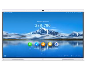 华为企业智慧屏IdeaHub Pro 65英寸挂墙图片