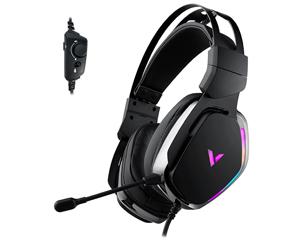 雷柏VH710虚拟7.1声道RGB线控游戏耳机图片