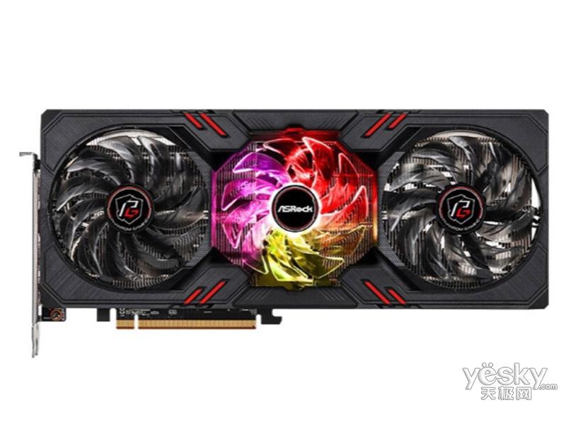华擎Radeon RX 6600 XT Phantom Gaming D 8GB OC