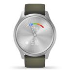 佳明GarminMove Style(银色表盘/墨绿色运动表带) 智能手表/佳明