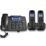 中诺W128一拖二 电话机/中诺