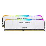 英睿达Ballistix铂胜 RGB 32GB(2×16GB)DDR4 3600(BL2K16G36C16U4WL) 内存/英睿达