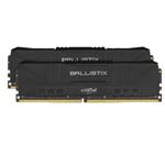 英睿达Ballistix铂胜游戏 16GB(2×8GB)DDR4 3200(BL2K8G32C16U4B) 内存/英睿达